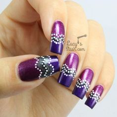 Abstract Aboriginal Inspired Nails with Zoya
