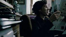 Benedict as Sherlock Sherlock Fandom, Sherlock John, Benedict Cumberbatch Sherlock, Sherlock Cast, Martin Freeman, Beautiful Series, 221b Baker Street, John Watson, Johnlock