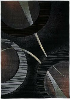 5x8 5 5 Quot X 7 7 Quot Modern Contemporary Abstract Black