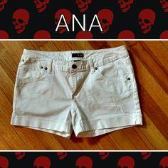 Ana shorts sz ten Ana white shorts sz ten like new a.n.a Shorts