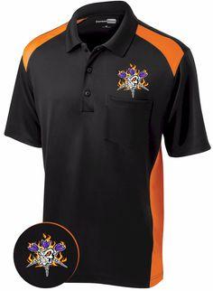 Darts Shirt ~ Dirty Darts --Men's cool looking flaming dart shirt.