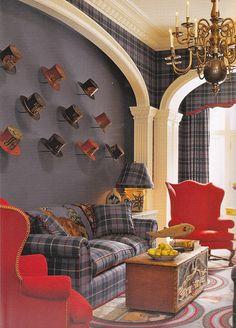 Scot Meacham Wood Designs, maybe with baseball caps in Wyatt's room?