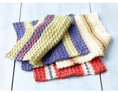 South Beach Washcloth Set