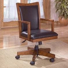 ashley furniture cross island swivel office chair in medium brown h319 01a bedroommarvellous office chairs bones furniture company