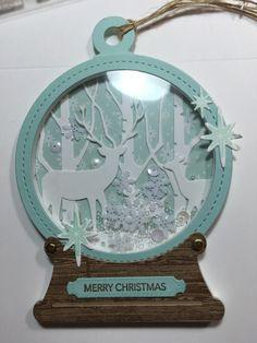 Splitcoaststampers FOOGallery - Deer Snow Globe Scene