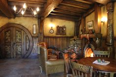 Hogwarts-inspired home that's located in the foothills of Ashland, Oregon, Hobbit Hole, The Hobbit, Eco Buildings, Underground Homes, Home Board, Humble Abode, Interior Architecture, Interior Design, My Dream Home