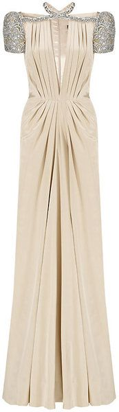 JENNY PACKMAN ENGLAND Crystal Gown - Lyst