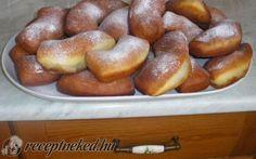 Krumplis fánk recept fotóval Pretzel Bites, Muffin, Food And Drink, Bread, Recipes, Brot, Recipies, Muffins, Baking