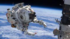 NASA EVA robotics by dangeruss.deviantart.com on @DeviantArt