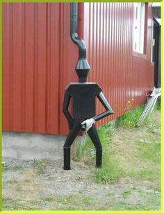 Récup' eau de pluie avec humour !!!!