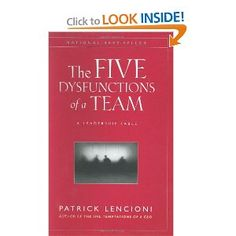 Fantastic book for teams, to maintain health or build it.  easy read in fable format.  I highly recommend it!