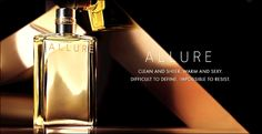 Chanel Allure has become my signature fragrance.