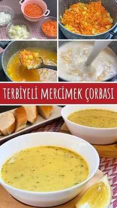 Terbiyeli Mercimek Çorbası - Nefis Yemek Tarifleri - #8208650