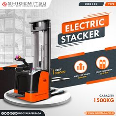 Shigemitsu Electric Stacker - Warehouse Equipment #indotara #ptindotarapersada #indotarapersada #ptindotara #shigemitsu #manualstacker #handpallet #handlift #alatberat #electricstacker #handstacker #semielectricstacker #electricstackers #heavyduty #handlingequipment #warehouseequipment #warehouseequipments #electricstackerjakarta #electricstacker #electricstackerbandung #electricstackersurabaya #electricstackermedan #electricstackersemarang Warehouse Equipment, Semarang, Medan, Surabaya, Pallet, Palette, Pallets