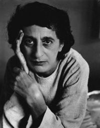 Anni Albers (1899-1994), textile artist, printmaker, student at #Bauhaus. Married to Josef Albers.