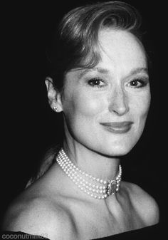 Meryl Streep at the 1989 Academy Awards...