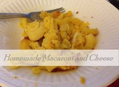 Homemade Macaroni and Cheese {6 Ingredients}