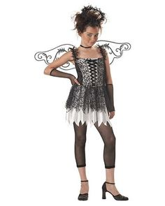 dark angel tween costume girls tween halloween costumes - Kids Angel Halloween Costume