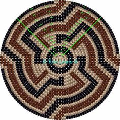 Crochet Chart, Bead Crochet, Filet Crochet, Crochet Stitches, Tapestry Crochet Patterns, Weaving Patterns, Mochila Crochet, Bargello Quilts, Tapestry Bag