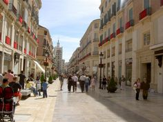 Malaga City - Calle Larios, one of our favorite places to go to when livnig in Benalmadena! It´s a beautiful city all year long but especially beautiful during Christmas!