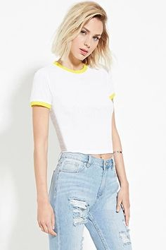 Boxy Ribbed Top   Forever 21 #thelatest