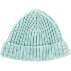cadc50010e1 Pre-owned Loro Piana Cable Knit Cashmere Beanie ( 195) ❤ liked on Polyvore  featuring accessories