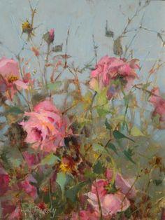"""Whistle Pik Galeries - Artiste détailsBotanic Gardens 16 """"x 12"""" peinture à l'huile"""