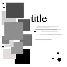 Sketch using squares