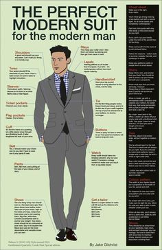 the perfect modern suit , men ;)