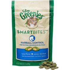 Feline Greenies Smartbites Hairball Control Cat Treats