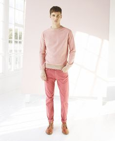 Reiss Spring/Summer 2013 Menswear Lookbook: Light & Sun Bleached Colours & Modern Slim Tapered Styles For Urban Men