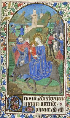 Book of Hours, MS M.1093 fol. 67r - Images from Medieval and Renaissance Manuscripts - The Morgan Library & Museum