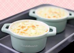 PANELATERAPIA - Blog de Culinária, Gastronomia e Receitas: Couve-flor ao Creme de Queijo