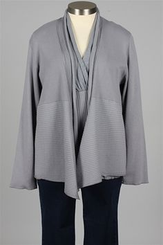 Fenini - Open Jacket - Silver