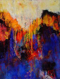 Katherine Treffinger, Crossing the Blues, 2010 on ArtStack #katherine-treffinger #art