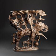 Horse rider, 40x40x12, bronze, 1978