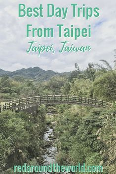There are so many great day trips from Taipei, it can be hard to choose only one. These are five of the best day trips from Taipei that you can easily do. Taipei Travel, Tokyo Japan Travel, Taiwan Itinerary, Backpacking Asia, Travel Humor, Bryce Canyon, China Travel, Zion National Park, Culture Travel