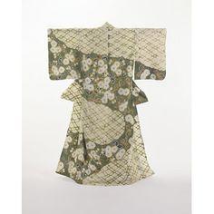 Kimono - Myriad Green Leaves