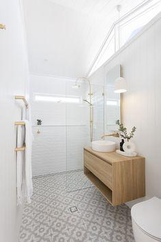 Bathroom Renovations Sydney, Concrete Basin, Hanging Rail, Luxury Accommodation, Holiday Accommodation, Bathroom Inspiration, Bathroom Ideas, Bathroom Inspo, Boho Bathroom