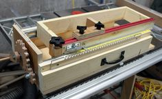 Image result for box joint jig screw