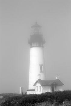 Light House in the mist...