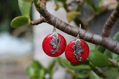 Butterfly Coral Earrings - RJEA0016 — Rica