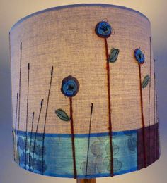Jo Hill Textiles: Lampshades