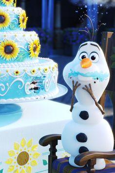 Disney Frozen and Frozen 2 Birthday Cake Ideas 2 Birthday Cake, Birthday Celebration, Birthday Parties, Disney Frozen Cake, Disney Posters, Yummy Cakes, Cake Ideas, Party Themes, Eat