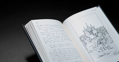 Your chance win one of the 150th Anniversary Limited Edition - Alice's Adventures Under Ground - The original handwritten version of Alice in Wonderland by Lewis Carroll - Usually $499.00!