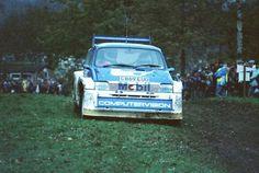 RA  Malcon Wilson en el Rallye Rac de 1985