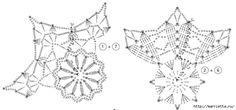 Вязание крючком. СНЕЖИНКИ (3) (700x327, 112Kb)