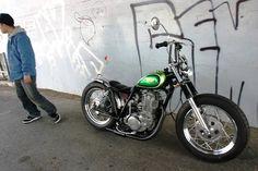 Japanese Bobber Xs650 Bobber, Yamaha Sr400, Sr500, Bobber Motorcycle, Bobber Chopper, Cool Motorcycles, Custom Bikes, Custom Cars, Rat Rod Girls