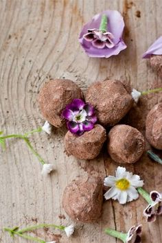 ... ice food drink chocolate truffles lavender chocolate truffles lavender