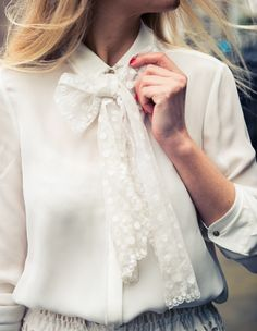 """""""I love the uniqueness of vintage pieces and am forever on a quest for yet another antique white lace number."""" http://www.thecoveteur.com/martha-ward-fashion-stylist/"""